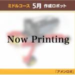 5月制作ロボット・アメンロボ