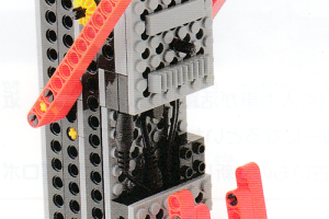 ベーシックコース2月作製ロボット『クルリン』
