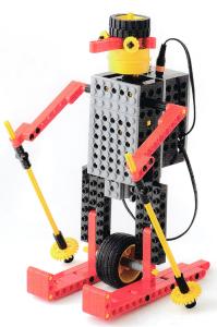 プライマリーコース12月作製ロボット『アルペンくん』