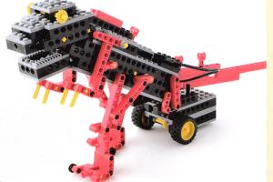 ミドルコース12月作製ロボット『ロボザウルス』