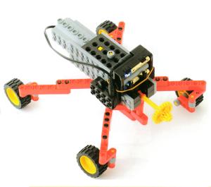 ミドルコース5月作製ロボット『アメンロボ』